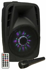 Mobile Beschallungsanlage 300W Musik Box Sound Lautsprecher Boxen USB Bluetooth