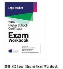 2016 HSC Legal Studies Exam Workbook