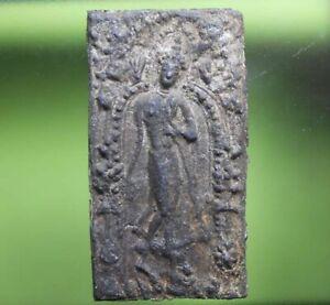 PERFECT! OLD THAI BUDDHA AMULET PHRAPANG LEELA VERY NICE
