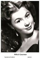 MITZI GAYNOR actress PIN UP PHOTO postcard A692/4 - Film Star 2000 Mint