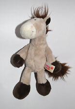 Nici 🐴 Pferd Pony 🐴 Horse Club 🐴 beige/braun Schlenkertier 18cm TOP