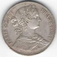 Frankfurt 1 Union Thaler 1860 Period Free City (1807 - 1866) Material Silver 0.9
