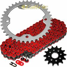 Red O-Ring Drive Chain & Sprockets Kit Fits YAMAHA YFZ450 YFZ450V 2004-2013