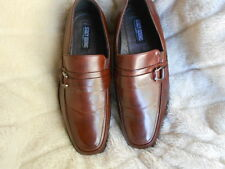 Men's or Boys Stacy Adams Loafers Size 6.5 (D,M) Dress Solid Brown Leather