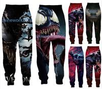 Movie Venom 3D Print Casual trousers Men Women Sweatpants Sport Jogging Pants