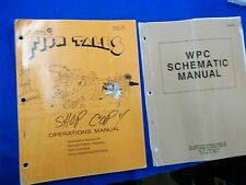 Williams Fish Tales pinball Operations & WPC Schematic Manuals