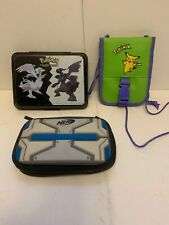 POKEMON BLACK & WHITE CARRYING CASE - Nintendo DS/ Nerf/ Pokémon Bag