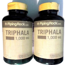 Triphala Lot 2 Bottles 1000mg 240 Tablets Pills