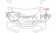 PreCut Suntek PPF-Ultra Clear Bra Film for 17+ Honda Civic Hatchback