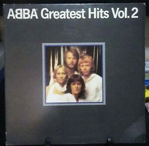 ABBA Greatest Hits Vol. 2 GateFold Album Released 1979 Vinyl Collection USA
