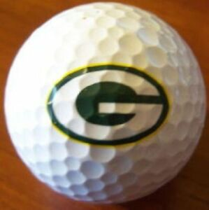3 Dozen (Green Bay Packers NFL Logo) Bridgestone 330 RX Mint Golf Balls