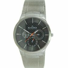 Skagen Men's Wristwatch Titan Stainless Steel 809XLTTM