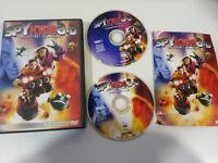 SPY KIDS 3-D + 2-D GAME OVER BANDERAS STALLONE 2 X DVD + EXTRAS ESPAÑOL ENGLISH