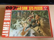 Vintage James Bond 007 'Thunderball' Jigsaw Puzzle Arrow Complete Boxed 1960's
