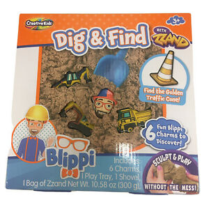 Blippi Dig And Find Construction Kit Sculpt Play Zsand Creative Kids NEW