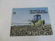 John Deere Hi-cycle and Other Sprayers Brochure