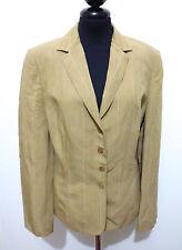 MARIELLA BURANI Giacca Donna Viscosa Lino Rayon Linen Woman Jacket Sz.M - 44