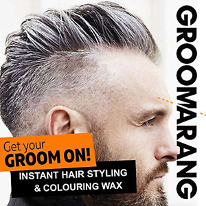 Temporary Hair Colour Dye Styling Cream Unisex Styling Silver Fox Grey Wash Out