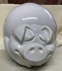 VINTAGE McCOY #201 QUIGLEY THE HAPPY SLEEPING PIG COOKIE JAR
