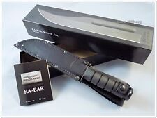 KA-BAR Fighting/Utility Knife 1211 Full Size - Black - Original USA - Brand New