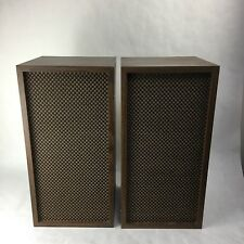Vintage Extremely rare Heathkit AS-37A Speakers ( set of 2) Late 60's Classic