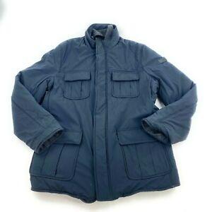 TUMI Reversible nylon wool Field jacketCoat  $645 EG5 overcoat men's black L