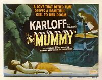 Vintage THE MUMMY 1932 FILM MOVIE METAL TIN SIGN POSTER WALL PLAQUE