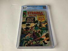 STRANGE TALES 145 CGC 8.5 DOCTOR STRANGE NICK FURY JACK KIRBY MARVEL COMICS 1966