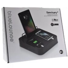Sanctuary4 Charging Station BlueLounge Smartphone iPhone Tablet Charger Black