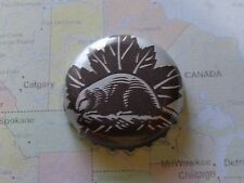 Beer Bottle Crown Cap ~ Sleeman Brewing & Malting Co ~ Guelph, Ontario ~ Beaver