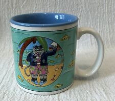 Catamaran Nancy Carlson 1985 Coffee Mug Ocean Beach Midwest Cannon Falls