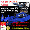 Eagle 9mm Around R/ Cover Ignition Spark Plug Leads Fits HEI Cleveland + Mounts