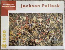 "Pomegranate 1000 Piece Puzzle - ""Convergence"" By Jackson Pollock"