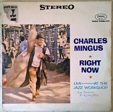 CHARLES MINGUS RIGHT NOW LP FANTASY