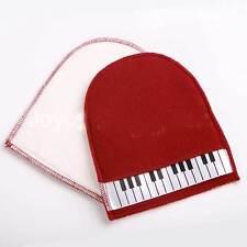 Pannetto panno pulizia guanto cotone anti polvere sporco pianoforte strumenti