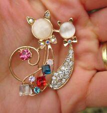 Modeschmuck-broschen aus Edelstahl mit Strass-Perlen