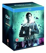 GRIMM COMPLETE SERIES SEASONS 1 2 3 4 5 6 BOXSET 28 DISCS BLU RAY 1-6