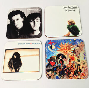 Tears for Fears Album Cover Drinks COASTER Set #1