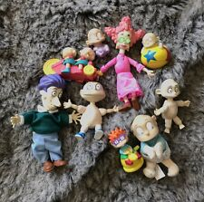 Rugrats Small Figures Figurines Nickelodeon Large Lot Of Vintage Toys