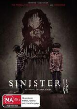 Sinister 2 (Dvd) Horror, Sci-Fi, Mystery, Thriller