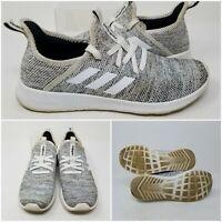 Adidas Cloudfoam White Casual Running Tennis Shoes Sneaker Women's Size 7.5