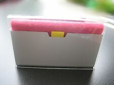 Visitenkarte Box Exquisite Mini Aktentasche Design Alu Kartenhalter Organizer