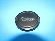 genuine Canon Ultrasonic 58 mm pinch style lens cap