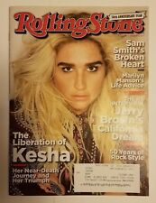 10/19/2017 Rolling Stone magazine Kesha cover intact Marilyn Manson Sam Smith D