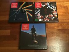 PINK FLOYD Dark Side of the Moon + Wish You Were Here + The Wall IMMERSION BOXES