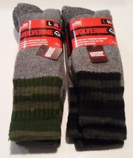 Wolverine Merino Wool Blend Over the Calf Boot Sock, 4 pair $22.99 +FREE SHIP
