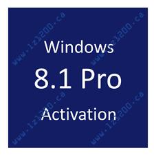 Windows 8.1 Pro Activation