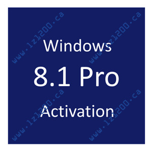 Windows 8.1 Pro Activation