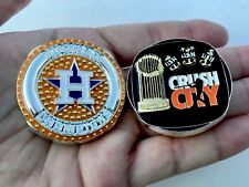 HOUSTON ASTROS MLB BASEBALL WORLD SERIES CHAMPS CPO CHALLENGE COIN NON NYPD MESS