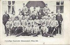 Wien: XII. Bezirk:  Gruß von der freiwilligen Feuerwehr Altmannsdorf ca. 1900